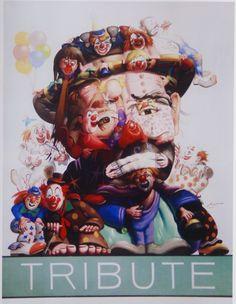Tribute to Emmitt Kelly, the famous clown Le Clown, Clown Faces, Circus Clown, Creepy Clown, Scary, Arte Pin Up, Emmett Kelly Clown, Laugh Now Cry Later, Pierrot Clown