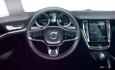 Volvo Concept Coupe 2013 - mein mit abstand größter favorit auf der IAA (innen und außen!) allein der gelbe airbag hinweiß... geil