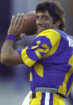 Image detail for -Joe Namath Los Angeles Rams Looked good in a uniform and in panty hose!  Was a better athlete.
