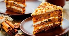 Truly our best-ever carrot cake recipe, make this classic favorite for a crowd and you might not have any leftovers to bring home. Again I made this cake but only one layer. Best-Ever Carrot Cake Ingredients 2 Carrot And Walnut Cake, Best Carrot Cake, Carrot Cake Ingredients, Cake Aux Raisins, Cake Recipes, Dessert Recipes, Healthy Desserts, Kolaci I Torte, Moist Cakes
