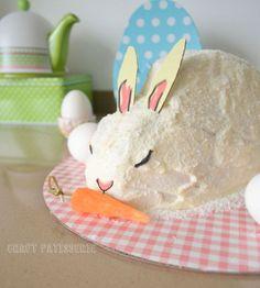 Easter bunny carrot cake ♡