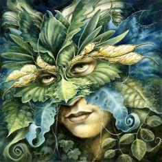 Séverine Pineaux ~ Le Roi Vert (The Green King)