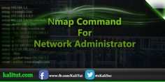 nmap commands For Network Administrator