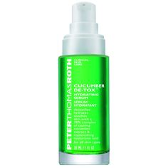 Peter Thomas Roth Cucumber De-tox Hydrating Serum, 1 Fluid Ounce => New and awesome product awaits you, Read it now : Face Oil and Serums Cucumber Uses, Cucumber Detox Water, Cucumber For Face, Peter Thomas Roth, Salt Face Scrub, Skin Care Clinic, Hydrating Serum, Moisturizer For Oily Skin, Beauty Bay