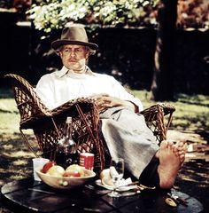 Vito Corleone, The Godfather⠀⠀⠀⠀⠀⠀ . Gangster S, Gangster Movies, Marlon Brando, Love Actually 2003, Don Corleone, Godfather Movie, Francis Ford Coppola, Al Capone, Latest News Headlines