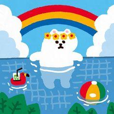 Kyebbang --- Illustrator(@kyebbang2) • Instagram 사진 및 동영상 Wallpaper Iphone Cute, Cute Wallpapers, Art Folder, Kids Logo, Cute Icons, Funny Art, Cute Illustration, Aesthetic Art, Cute Stickers