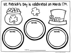 St. Patrick's Day Activities. Activities to learn about and celebrate St. Patrick's Day.