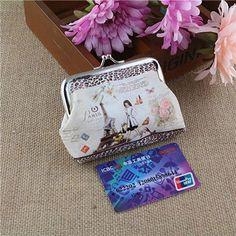 Retro kawaii coin bag Womens Small Wallet Card Holder Coin Purse Clutch small coin purse monederos mujer monedas mini purses