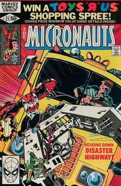 Micronauts #22 - The Best Darned Burglar In The Whole Wide World !