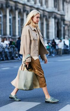 Paris Fashion Week 2017 September street style
