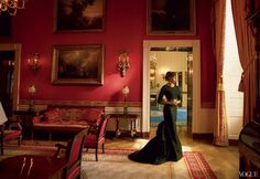 first. lady. (from the new issue of Vogue Magazine. beautifully shot by Annie Leibovitz)