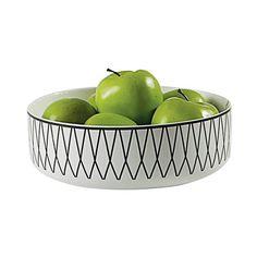 Dot & Bo Preston Ceramic Bowl ($33) ❤ liked on Polyvore