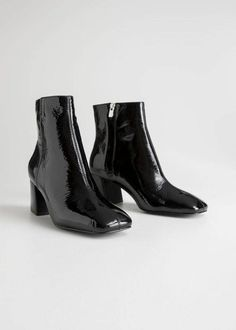 0ac026c48c3e The Best Black Patent Leather Boots You Need This Winter