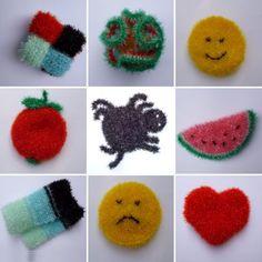 Les 48 Meilleures Images Du Tableau éponges Crochet Sur Pinterest