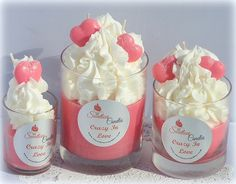 Crazy In Love 13oz Cupcake Candle by SweetloveCandles on Etsy