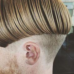 Bowl Haircuts, Haircuts For Men, Men's Hair, Hair Art, Mens Fringe, Mohawk Mullet, High And Tight, Undercut Pompadour, Disconnected Undercut