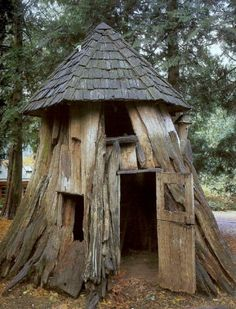 Wood shed,