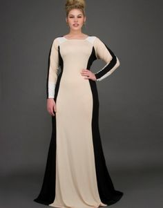Elegant Gown by Honey