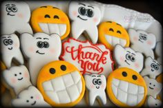 Dental thank you cookie set