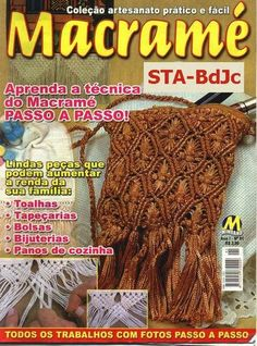 Macrame - Colecao Artesanato Prático e Fácil - Mike B - Álbumes web de Picasa