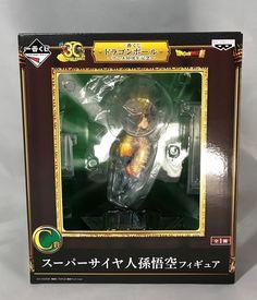 Banprest Dragon Ball Super Ichiban kuji Anime Anniv 30th Prize C Super Saiyan