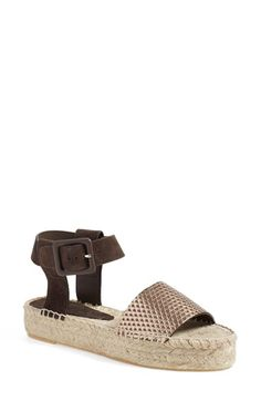 VINCE 'Edina' Espadrille Platform Sandal (Women). #vince #shoes #sandals
