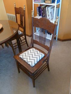 caned chair redo