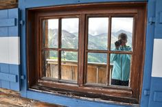 Grossglockner panorámaút, Ausztria Salzburg, Windows, Ramen, Window