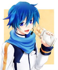 KAITO Creds by サーナ @Pixiv