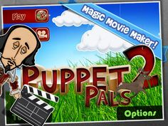 Puppet Pals 2 - a fantastic iOS app for digital storytelling