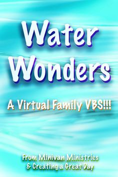 Join us for our first virtual family VBS!  You will find easy, fun, and meaningful activities that you can do at home.  Let's dive in!