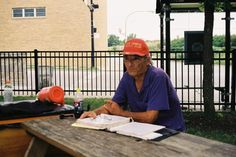I met a homeless man living in a bus shelter in Kilbourn Park, Chicago, IL last August.  He disappeared in January 2012, if you see him, tell him Richard the amateur photographer said hello.