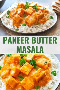 Paneer butter masala is soft cubes of cottage cheese in a finger-licking', nutty-buttery sauce! Cooks easily in the instant pot and is a dream to eat! Indian Paneer Recipes, Indian Food Recipes, Asian Recipes, Ethnic Recipes, Paneer Cheese Recipes, Vegetarian Recipes Easy, Cooking Recipes, Vegetarian Food, Veggie Recipes