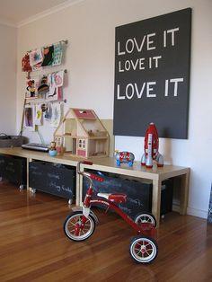 Playroom - Toy Storage