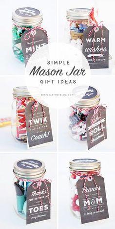 Free Simple Mason Jar Printable Tags                                                                                                                                                                                 More