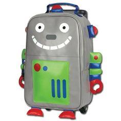 Amazon.com: Stephen Joseph Boys 2-7 Rolling Backpack, Airplane, One Size: Clothing $34