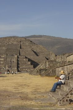 Ancient Pyramids Of Teotihuacan In Mexico