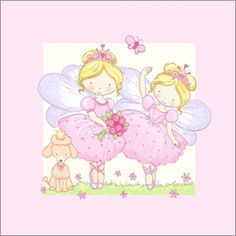Fluffy Feelings - ballet fairies with poodle