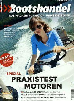 Praxistest Motoren. Gefunden in: Bootshandel-Magazin, Nr. 1/2015