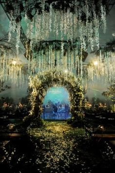 some idiot payed a crapton of money to get the breaking dawn wedding... sure looks nice tho