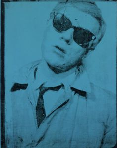 Andy Warhol. self portrait 1963.