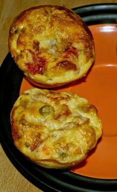 Zdrowo zakręcona: Jajeczne babeczki wytrawne - doskonałe na drugie śniadanie do pracy czy szkoły