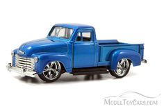 1953 Chevy Pickup Truck, Blue - Jada Toys Just Trucks 97007 - 1/32 scale Diecast Model Toy Car