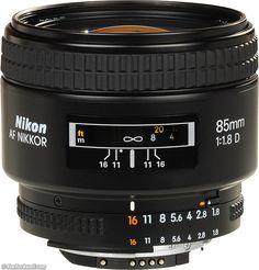 Nikon 85mm f/1.8 AF-D