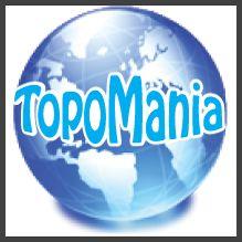 Via de site http://www.topomania.net/ kan je heel makkelijk topo toetsen leren. Je kan ze zo maken als je ze zelf wil.