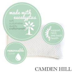 Memory Foam Tencel Pillow – By Camden Hill – Product Review