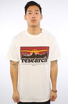 LRG (Lifted Research Group) Graphic Tee Motherland Research S/S Tee in White : Karmaloop