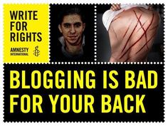 Serial Human Rights Abuser Saudi Arabia Sentences Blogger To 1000 Lashes - http://americans.org/2015/06/07/serial-human-rights-abuser-saudi-arabia-sentences-blogger-to-1000-lashes/