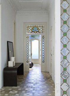 tiled entry   åpent hus