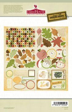 FarmHouse Paper Company — Sugar Hill sticker pack